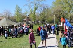 Выставка Военно-полевой лагерь с элементами игры для детей и подростков в парковой зоне музея