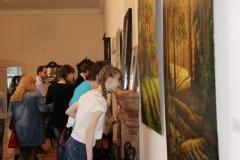 Выставка картин «Наедине со всеми», посвященная памяти Камышловского художника В. Зайкова