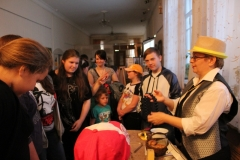Интерактивная программа для школьников в Ночь музеев