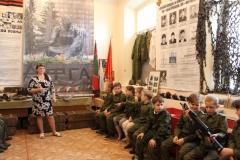 Интерактивное занятие «Военные сборы» для кадетов школы №1