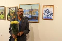 Камышловский художник А.Е. Гурин. Его персональная выставка прошла в музее