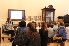 Лекционное музейное занятие для воспитанников коррекционой школы интернат