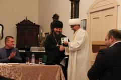 Награждение участников круглого стола Анти экстремистский десант