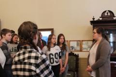 Обзорная экскурсия по музею для старших школьников