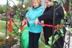 Открытие Аллеи любви и верности в парковой зоне музея