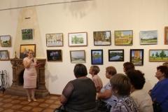 Открытие выставки картин камышловских художников Вдохновение-2016