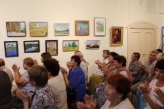 Полный зал на открытии выставки Вдохновение 2016