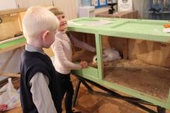 Посетители выставки Чудо зоопарк