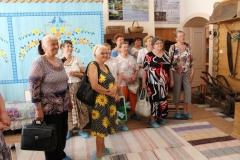 Посетители музея в День открытых дверей в рамках месячника пенсионера Свердловской области