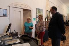 Экскурсия по залам музея для депутатов Думы Камышловского городского округа 6 созыва