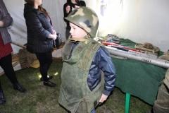 Экспонаты выставки Военно-полевой лагерь были доступны посетителям