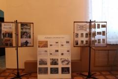 Экспонаты фотовыставок в рамках Года Российского кино