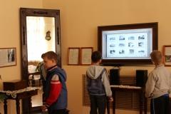 Юные посетители виртуальной выставки