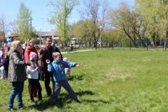 метание учебных гранат 9 мая