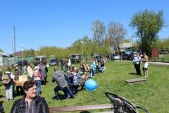 9 мая игровая программа в парковой зоне музея