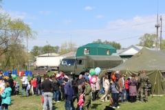 Выставка Военно полевой лагерь